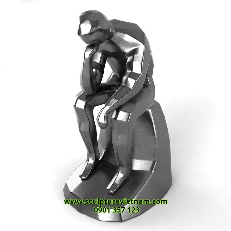 điêu khắc trừu tượng bằng eps