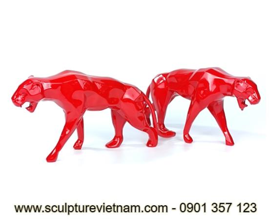 tượng điêu khắc nhựa plastic nghệ thuật